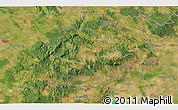 Satellite 3D Map of Veszprém