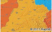 Political Map of Oradea