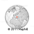 Outline Map of Abram, rectangular outline