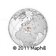 """Outline Map of the Area around 47° 16' 15"""" N, 25° 34' 30"""" E, rectangular outline"""
