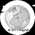 Outline Map of Gura Haitii, rectangular outline