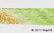"Physical Panoramic Map of the area around 47° 16' 15"" N, 26° 25' 29"" E"