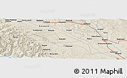 "Shaded Relief Panoramic Map of the area around 47° 16' 15"" N, 26° 25' 29"" E"