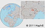 Gray Location Map of Focuri