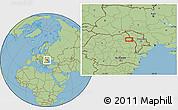 Savanna Style Location Map of Focuri
