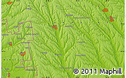 """Physical Map of the area around 47°16'15""""N,29°49'30""""E"""