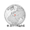 """Outline Map of the Area around 47° 16' 15"""" N, 29° 49' 30"""" E, rectangular outline"""