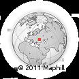 Outline Map of Trudolyubimovka, rectangular outline