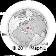 Outline Map of Tristanovy, rectangular outline