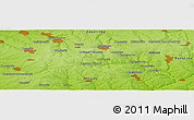 Physical Panoramic Map of Tristanovy