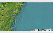 """Satellite 3D Map of the area around 47°16'15""""N,52°37'30""""W"""