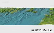 "Satellite Panoramic Map of the area around 47°16'15""N,54°19'30""W"