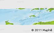 Physical Panoramic Map of Grand Bank