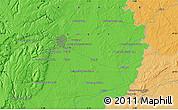 Political Map of Dijon