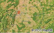 Satellite Map of Dijon