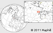 """Blank Location Map of the area around 47°16'15""""N,6°1'30""""E"""