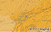 Political Map of Besançon