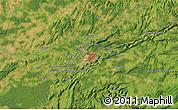 Satellite Map of Besançon