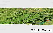 "Satellite Panoramic Map of the area around 47°16'15""N,6°52'30""E"