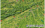 Satellite Map of Liestal