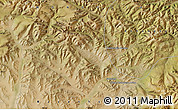 "Satellite Map of the area around 47°16'15""N,99°31'30""E"