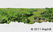 Satellite Panoramic Map of Herisau