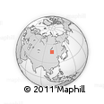 """Outline Map of the Area around 47° 41' 6"""" N, 108° 1' 30"""" E, rectangular outline"""