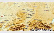 """Physical 3D Map of the area around 47°41'6""""N,10°16'30""""E"""