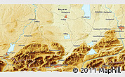 """Physical 3D Map of the area around 47°41'6""""N,11°7'30""""E"""