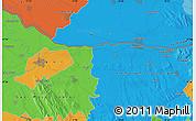 Political Map of Győr