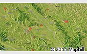 Satellite 3D Map of Suceava