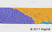 """Political Panoramic Map of the area around 47°41'6""""N,26°25'29""""E"""