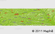 "Physical Panoramic Map of the area around 47° 41' 6"" N, 28° 7' 30"" E"