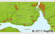 Physical 3D Map of Dneprovskoye