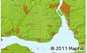 Physical Map of Dneprovskoye