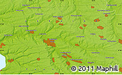 Physical Map of Dolinka