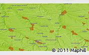 Physical 3D Map of Dobryy Zatyshok