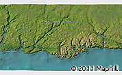 """Satellite 3D Map of the area around 47°41'6""""N,56°52'30""""W"""