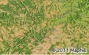 Satellite Map of Leuglay