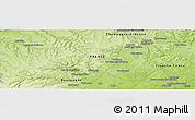 Physical Panoramic Map of Langres