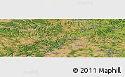 Satellite Panoramic Map of Langres