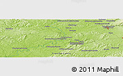 "Physical Panoramic Map of the area around 47° 41' 6"" N, 6° 1' 30"" E"