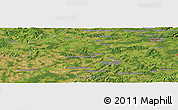 "Satellite Panoramic Map of the area around 47° 41' 6"" N, 6° 1' 30"" E"