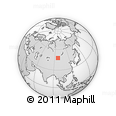 Outline Map of Zavkhan Aimag Museum/Famous People Museum, rectangular outline