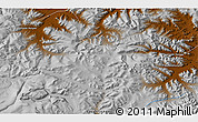 """Physical 3D Map of the area around 47°41'6""""N,98°40'30""""E"""