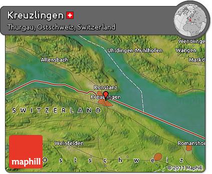Free Satellite Map of Kreuzlingen