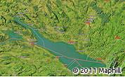 "Satellite Map of the area around 47°41'6""N,9°25'30""E"