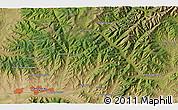 Satellite 3D Map of Ulaanbaatar