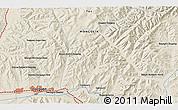 Shaded Relief 3D Map of Ulaanbaatar