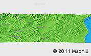 Political Panoramic Map of Bayagiin Dugang